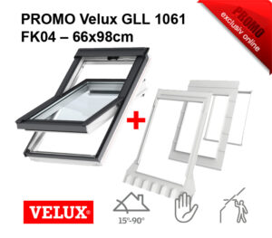 PROMOTIE Fereastra Velux GLL 1061 FK04 – 66x98cm